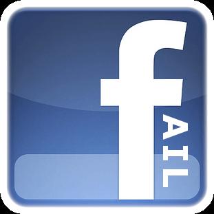 Facebook Fail Logo